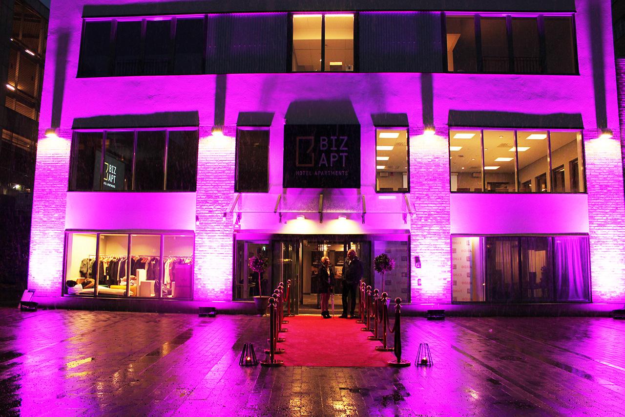 Invigning av Hotell Biz Apartment