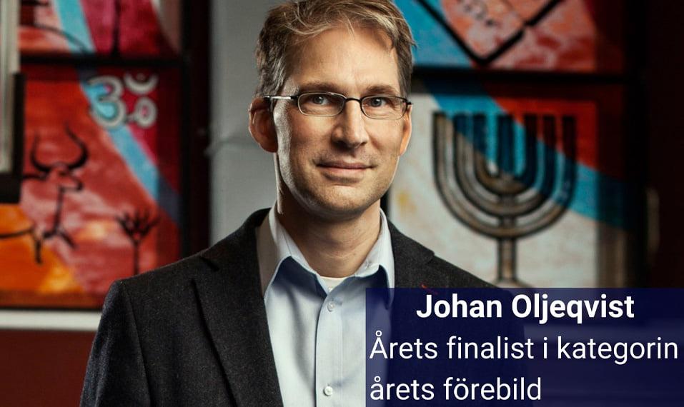 Johan Oljeqvist vd