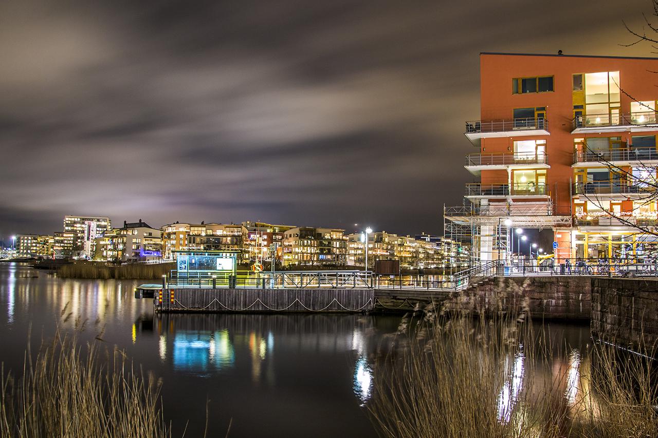 Luma brygga i Hammarby Sjöstad