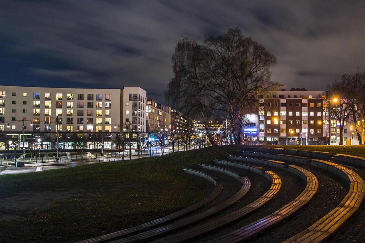 Lumapark med dess teater