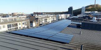 Mer solenergi i Hammarby Sjöstad