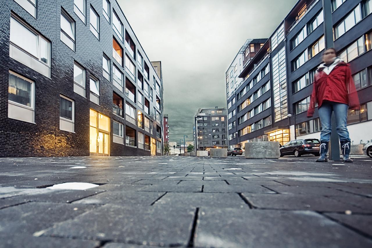 Nybygge i Hammarby Sjöstad