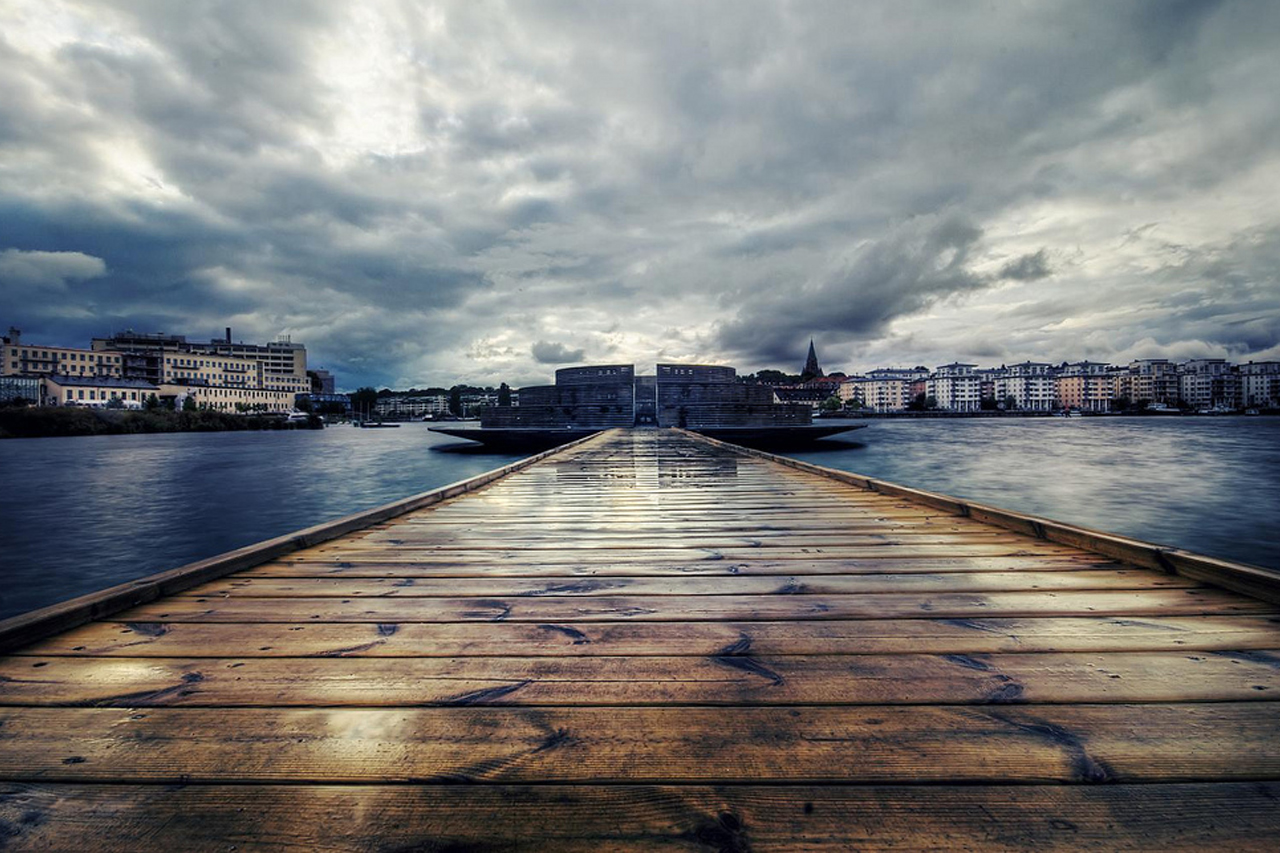 Obesrvatorium i Hammarby sjö