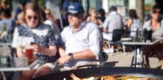 Paella över öppen eld - Marina tapas