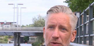 Peter Lind, tf gruppchef för Polisens yttre ungdomsgrupp i Stockholm