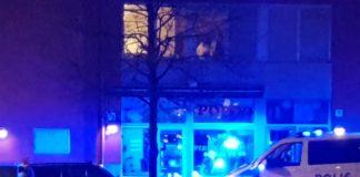 Polis stoppar fortkörare