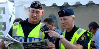 Polisen läser Sjöstadsbladet