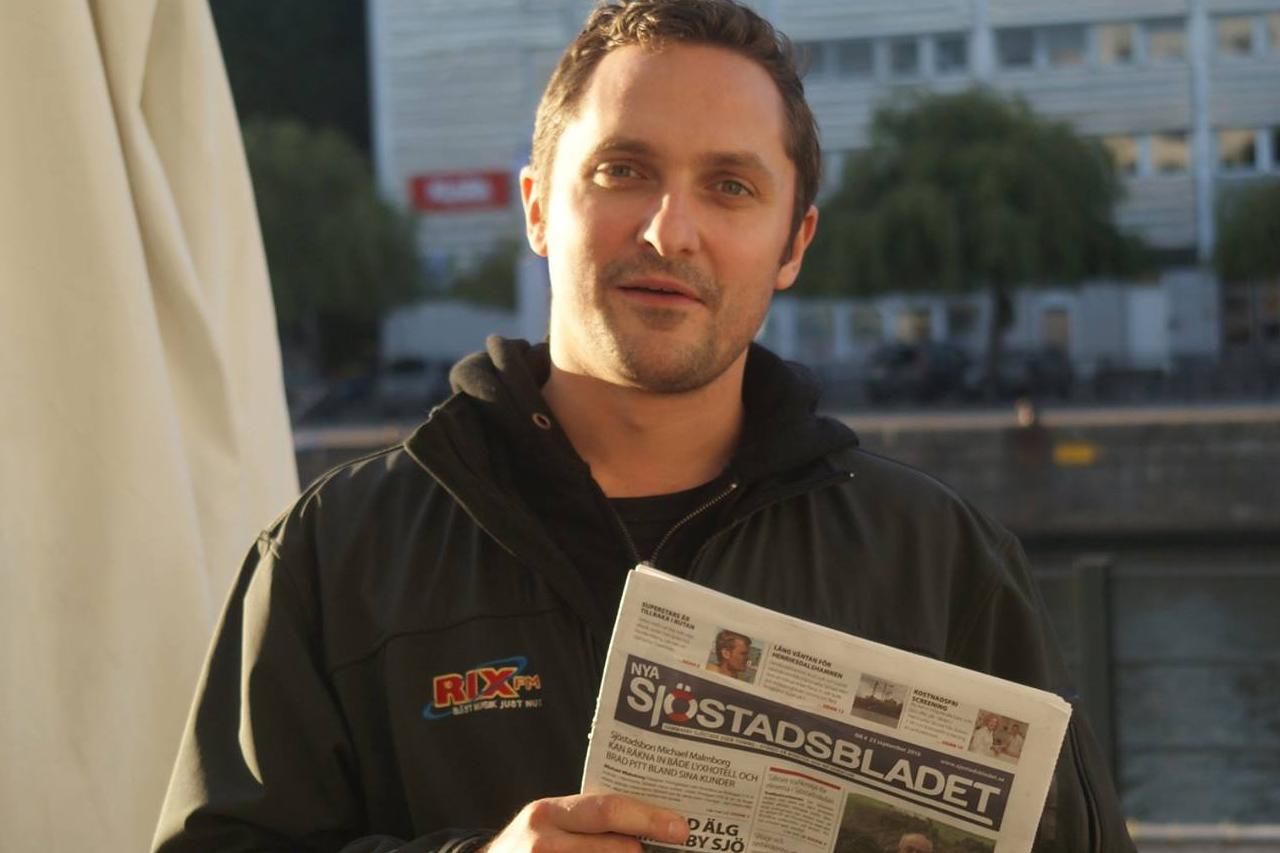 RIX FM promotar lokaltidningen