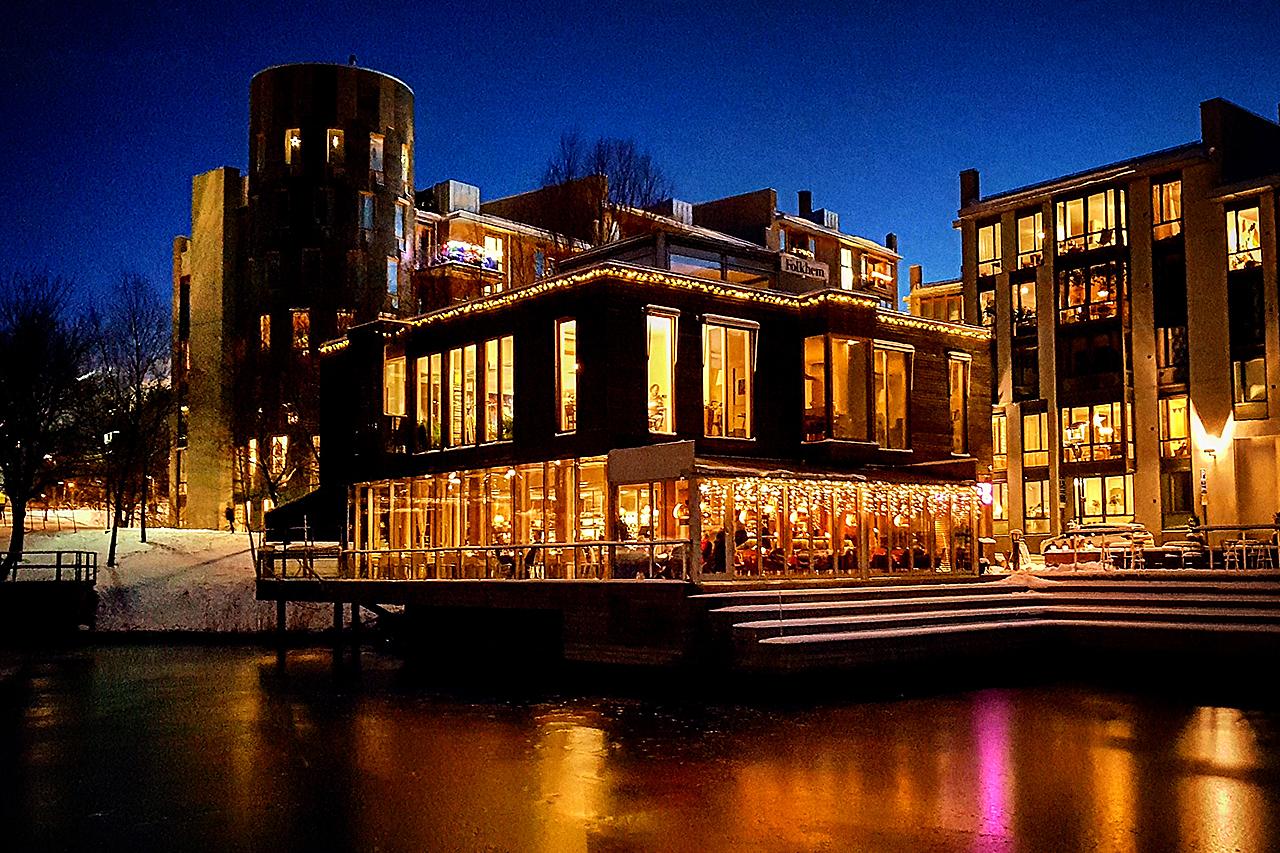 Restaurang Göteborg i Hammarby Sjöstad