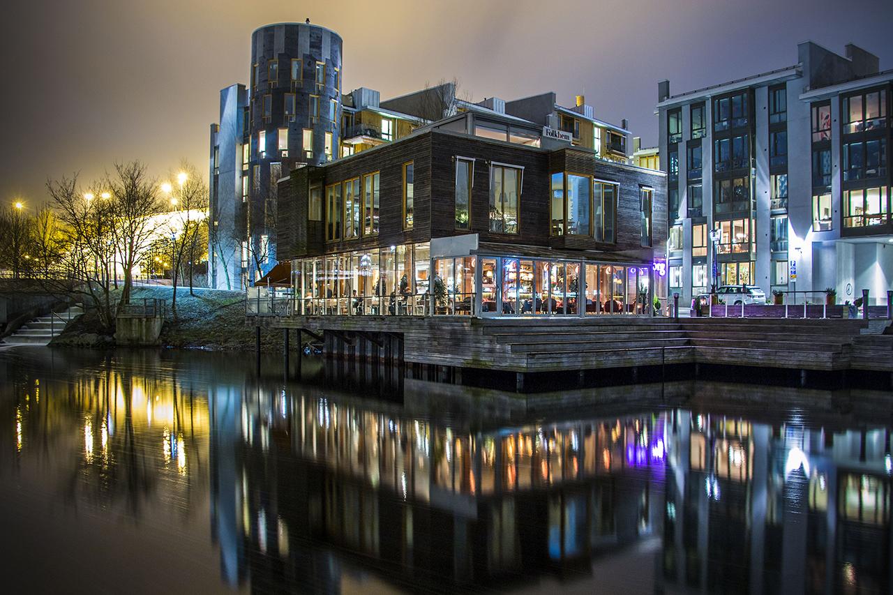 Restaurang Göteborg kvällsbild