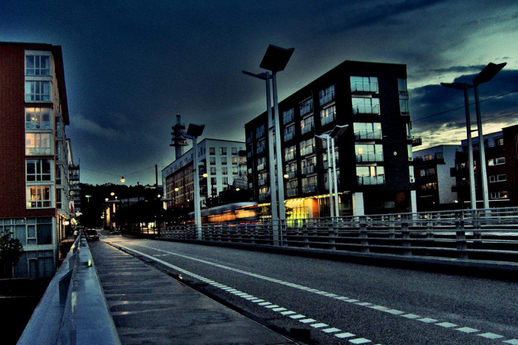 Sicklabron i Hammarby Sjöstad