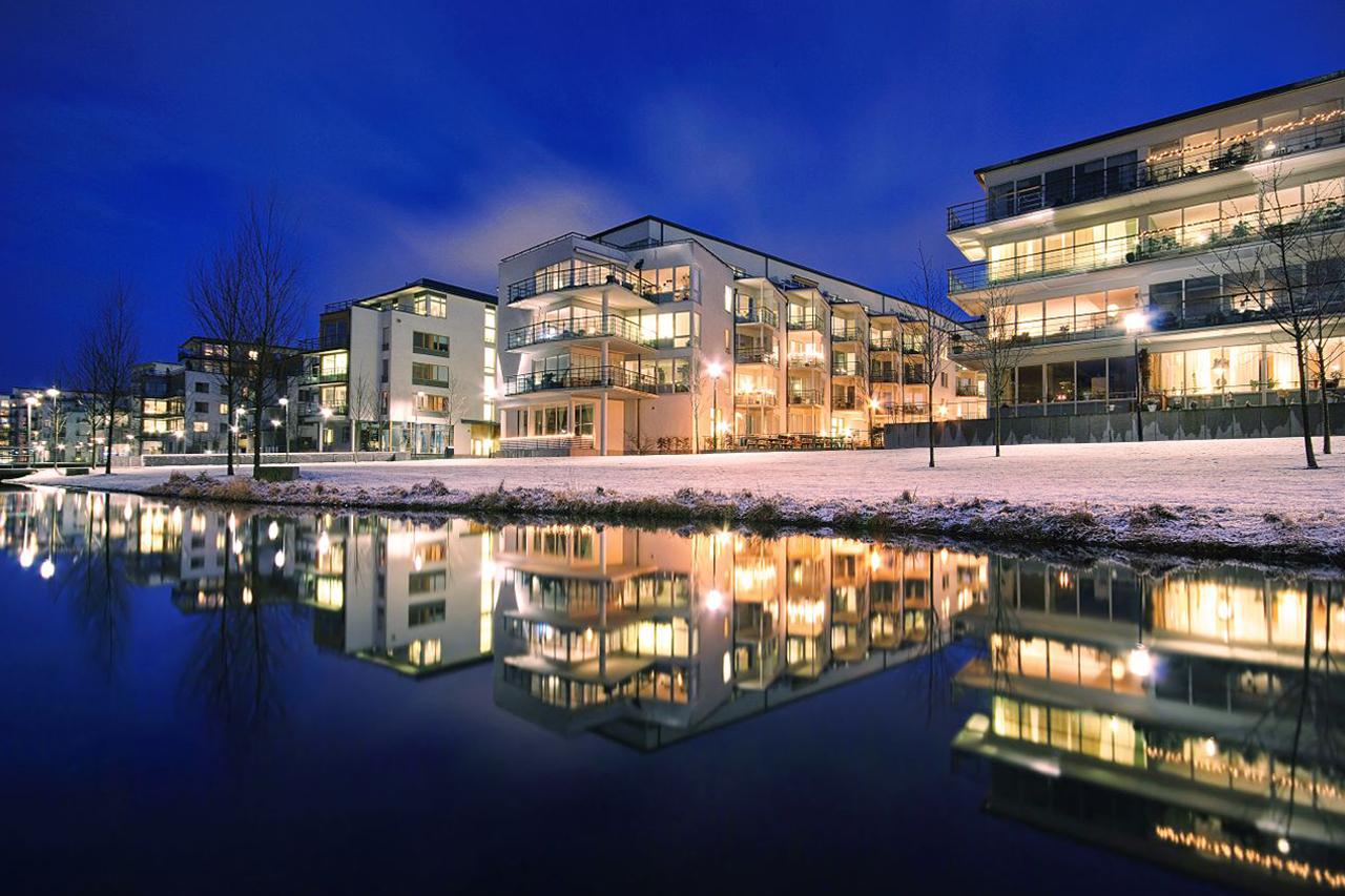 Sjöstadsparterren mitt i Hammarby Sjöstad