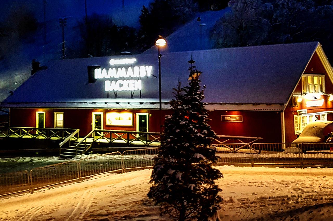 Stugan vid Hammarbybacken Juletid
