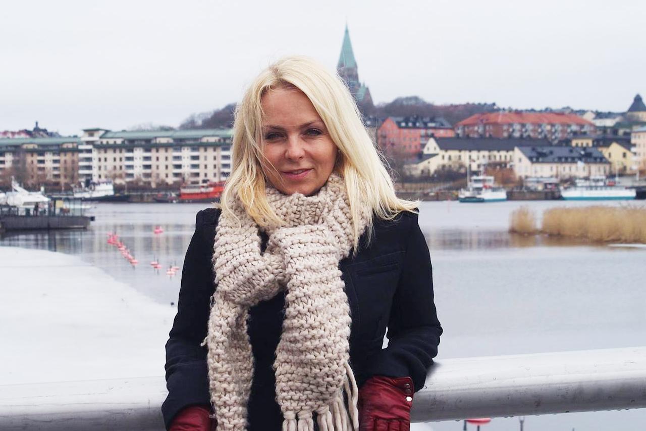 Tess Merkell i Hammarby Sjöstad