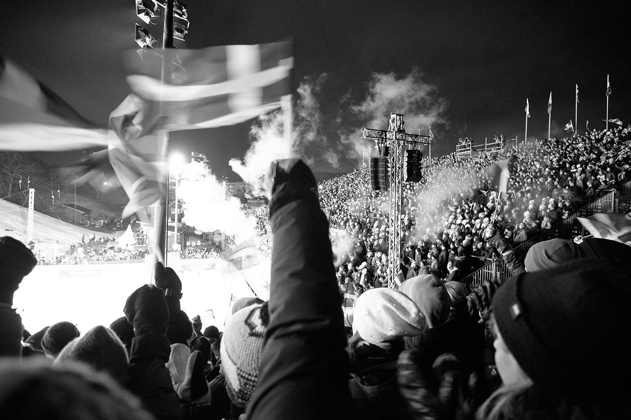 World Cup i Hammarbybacken i sjöstan