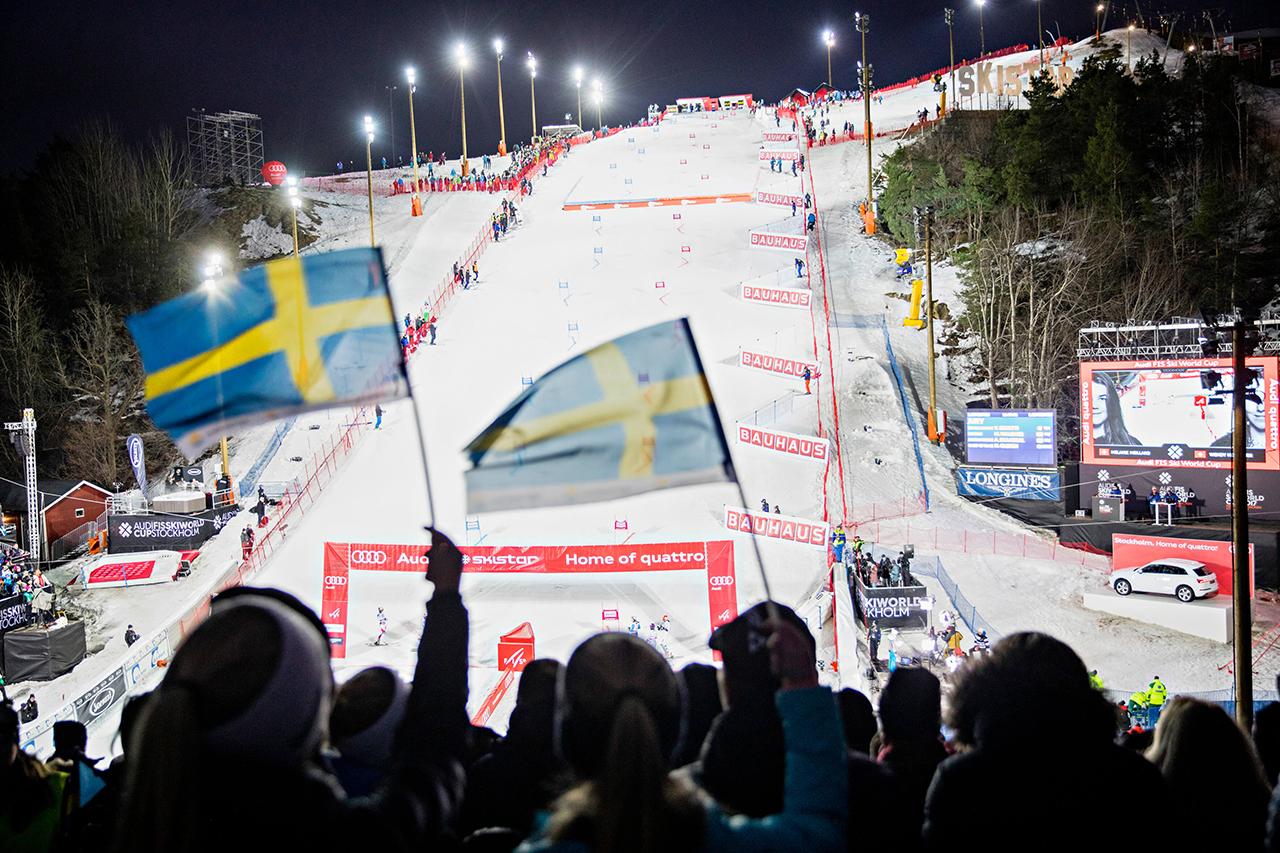 Worldcup i Hammarbybacken publik