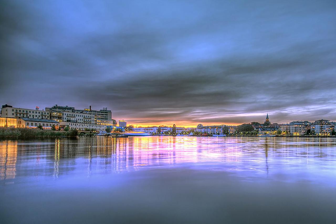 hammarby sjö morgonbild