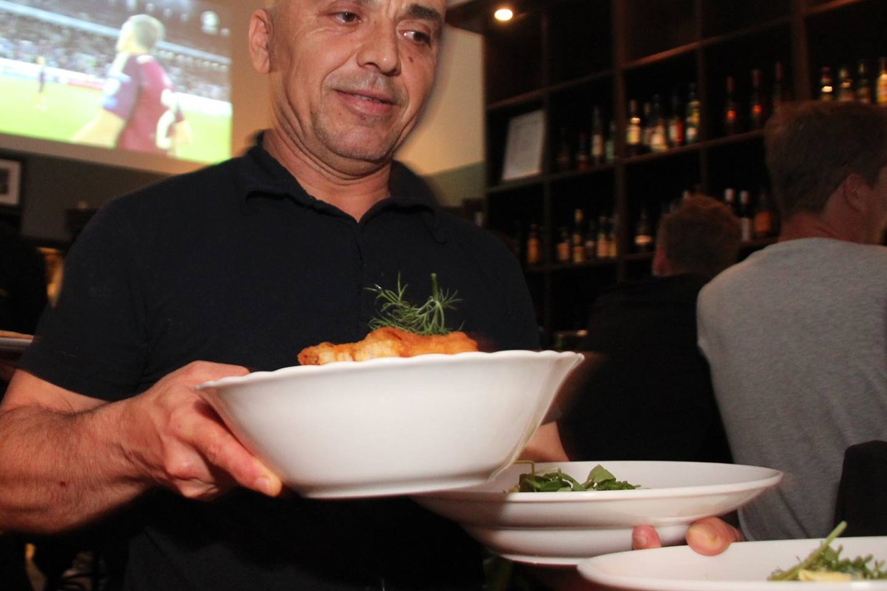 personal serverar mat