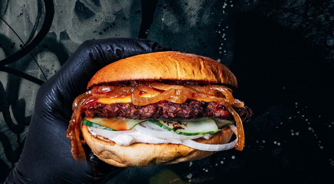 Bastard Burgers i Sickla Köpkvarter
