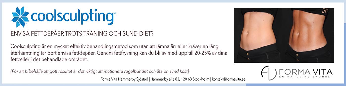 Coolsculpting Formavita Hammarby Sjöstad