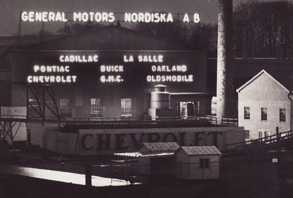 General Motors Cadillac i Hammarby Sjöstad