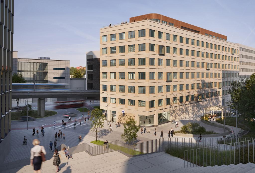 Kontorsbyggnad 300 miljoner Hammarby Sjöstad