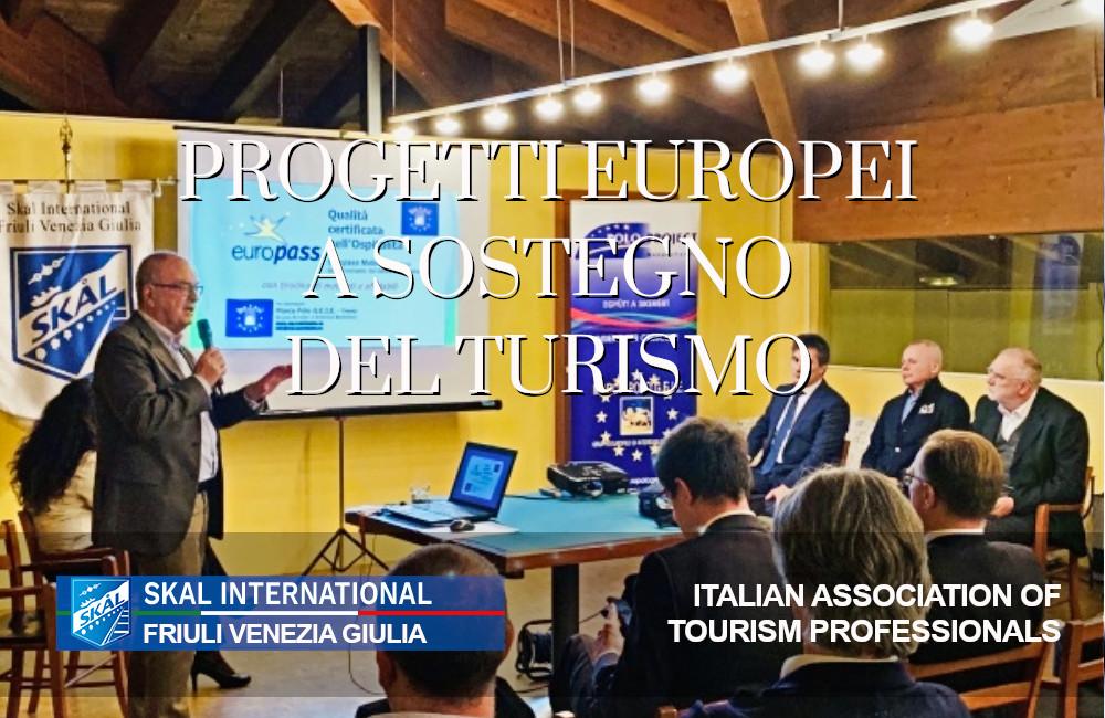 Progetti Europei a sostegno del turismo