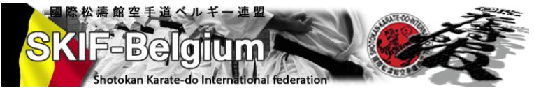 SHOTOKAN KARATE-DO INTERNATIONAL FEDERATION – BELGIUM