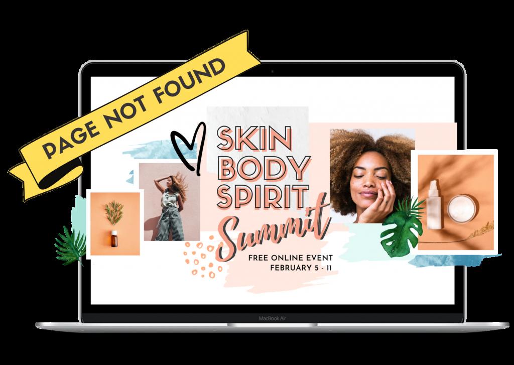 Skin Body Spirit Page not found