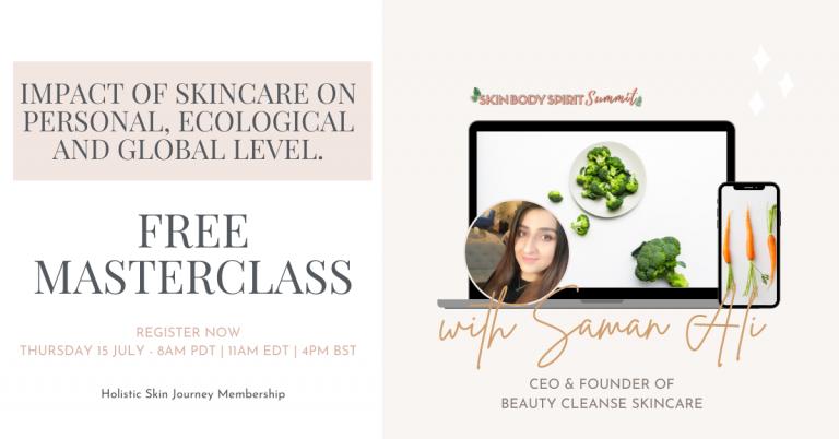 Saman Ali Beauty Cleanse Skincare Skin Body Spirit Summit
