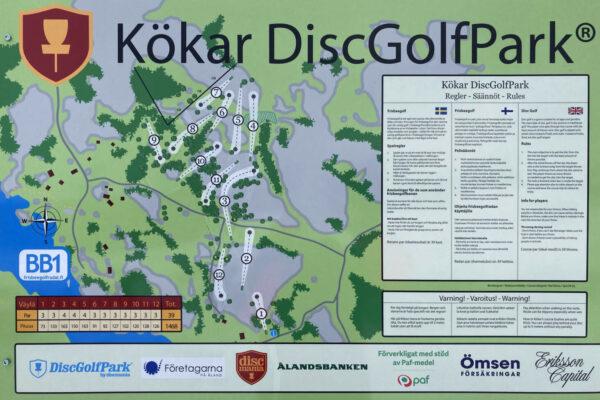 Kökar_DiscGolfPark