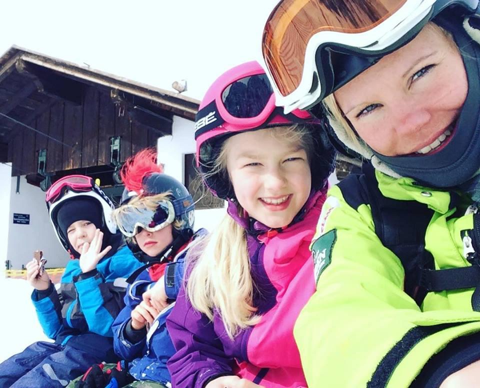 Børn på ski. Alder ?             Skitips ?