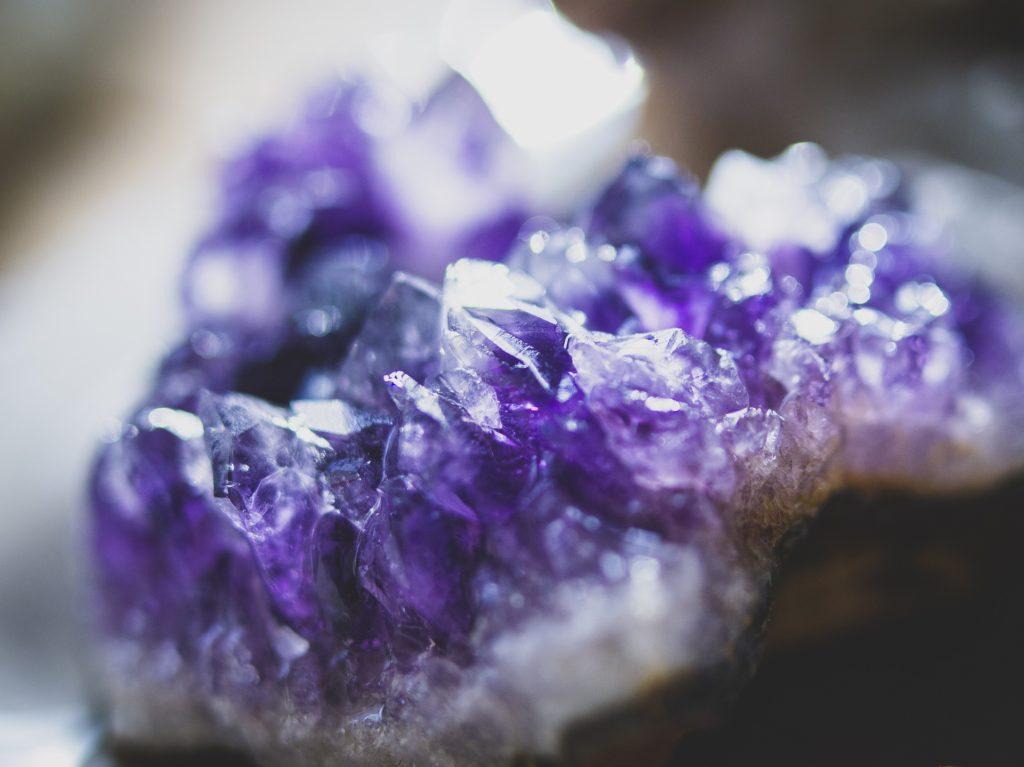 krystaller ametyst