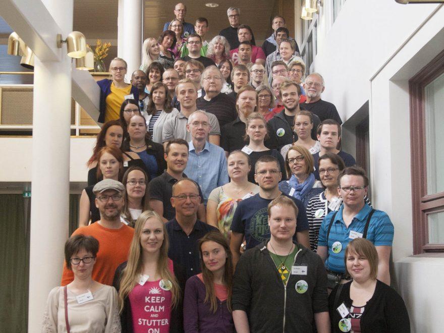 Nordisk seminar om stamming-gruppebilde
