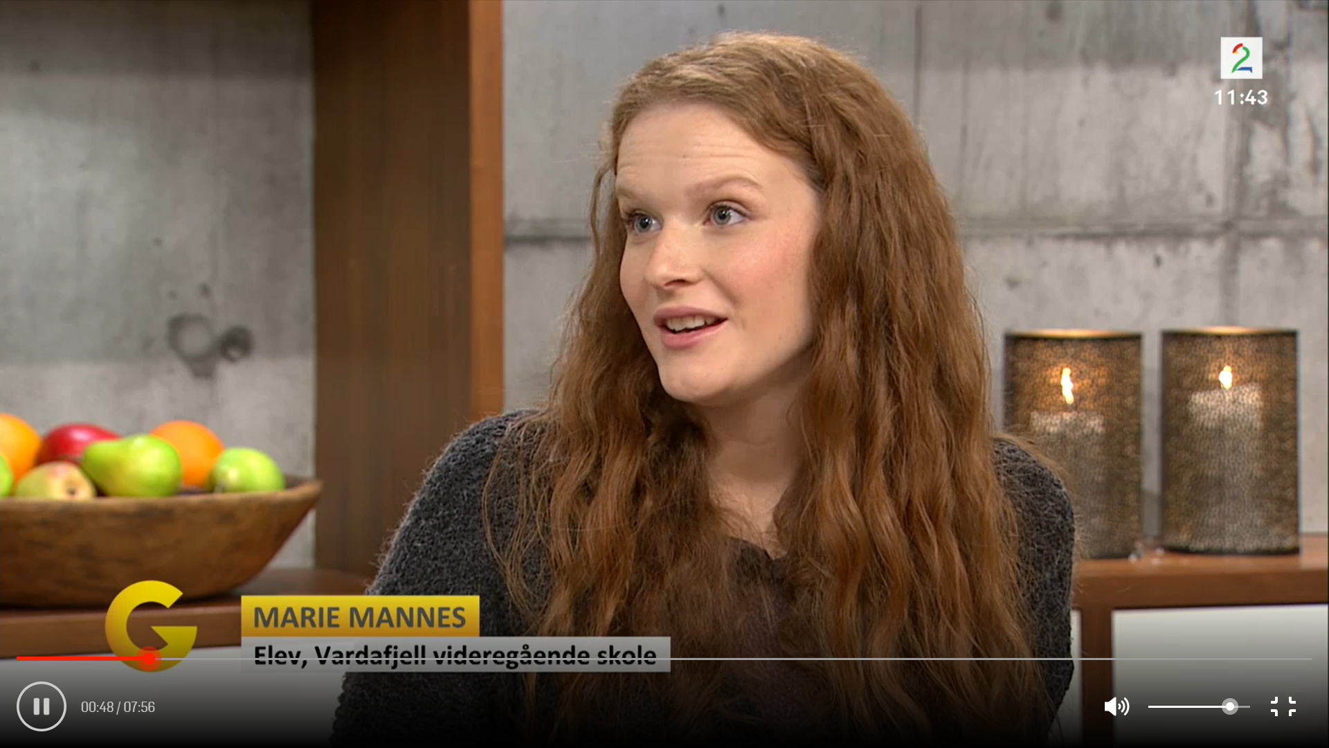 Løpsk tale-TV2-Marie Mannes
