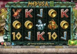 Medusa 2 Slot Screenshot