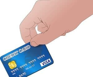 VISA Card Symbolbild