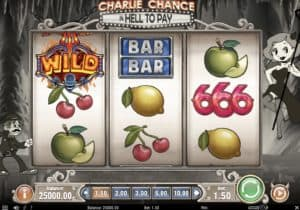 Charlie Chance In Hell To Pay Slot Screenshot