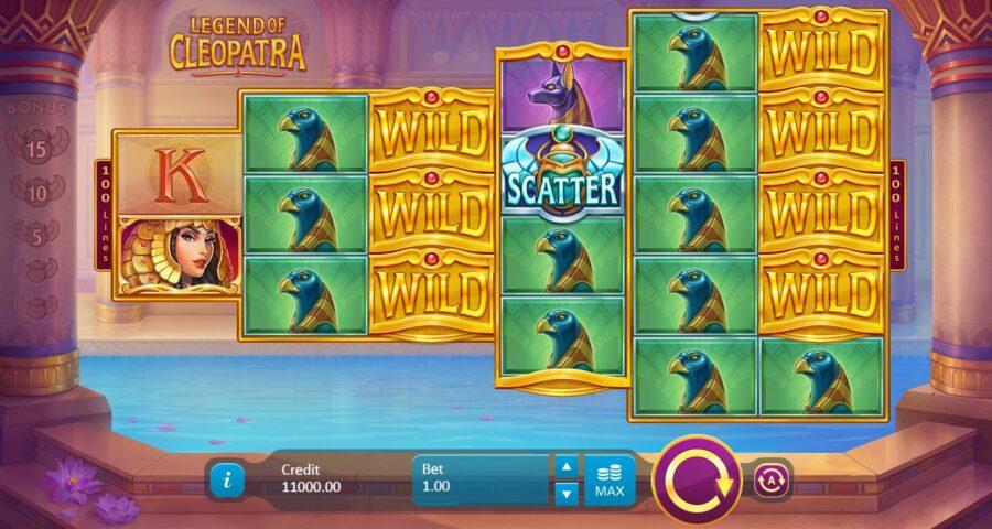 Cleopatra slots theme