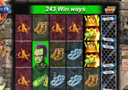 PUNK ROCKER SLOT REVIEW