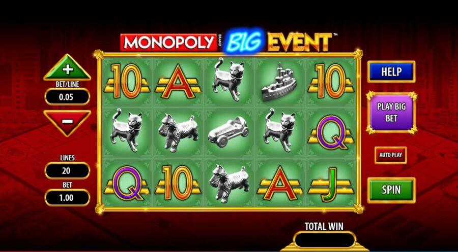 Monopoly big event high rtp slot