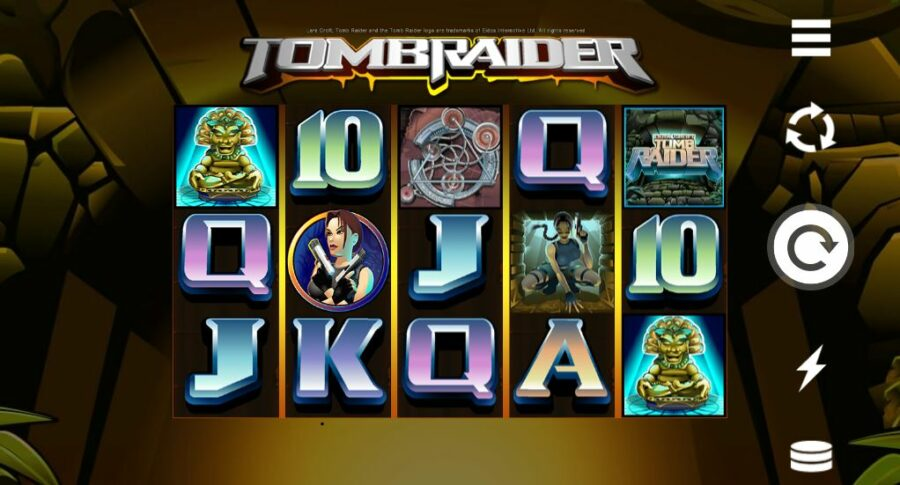 Tomb Raider low variance slot