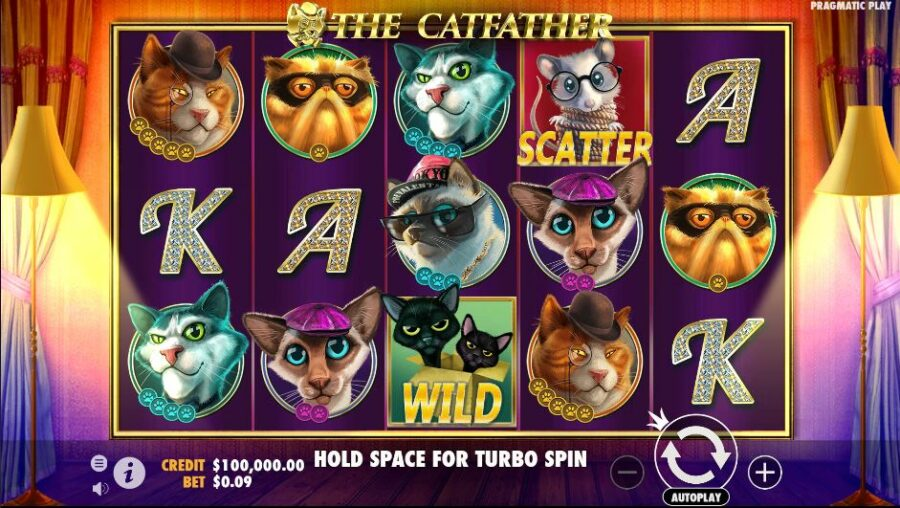 the catfather high rtp slot