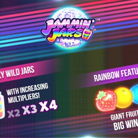 JAMMIN' JARS SLOT REVIEW
