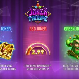 JOKER TROUPE SLOT REVIEW