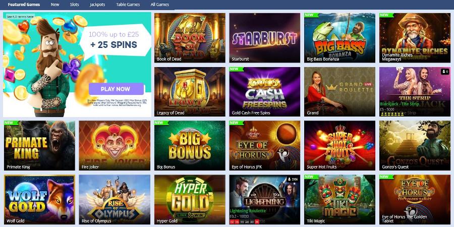Jackie Jackpot Casino slots