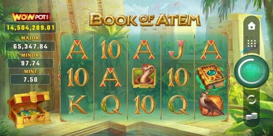 Book of atem wowpot