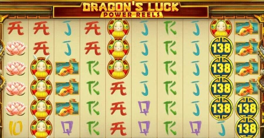 Dragons luck stacks slot
