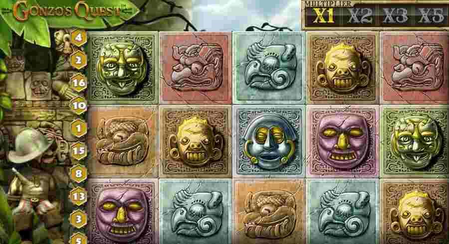 Gonzos Quest no deposit free spins