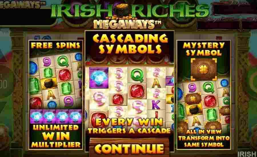 Irish Riches high roller